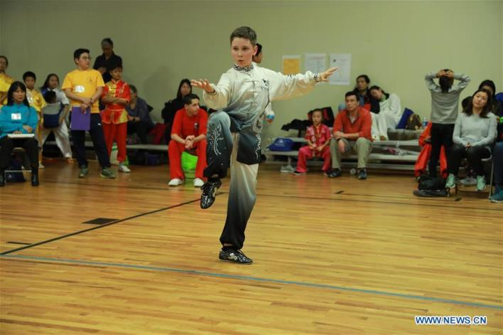 U.S.-CONNECTICUT-CHINESE MARTIAL ARTS-COMPETITION