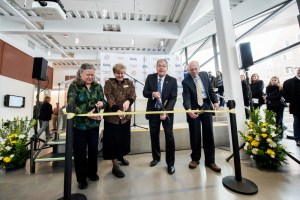Integrated Research and Innovation Center IRIC ribbon cutting