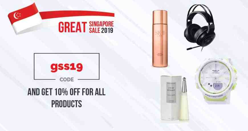 great singapore sale 2019! 10% off for all purchases
