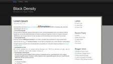 Black Density