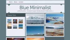 Blue Minimalist