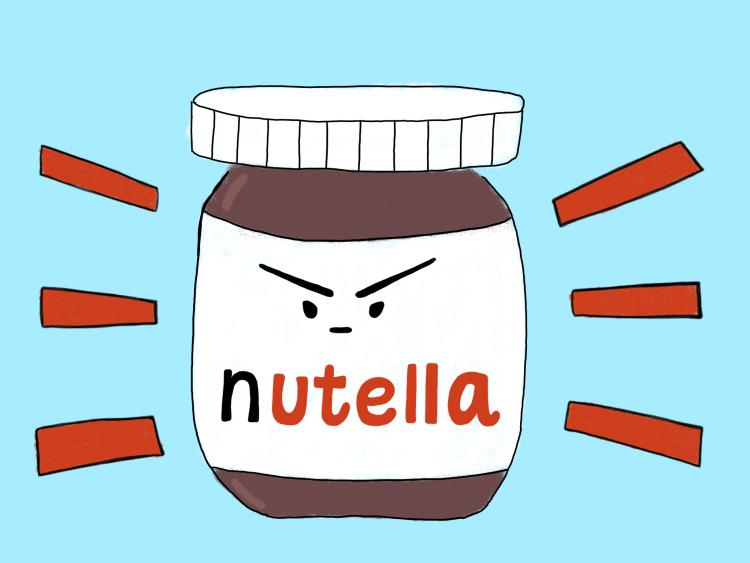 Złośliwa Nutella - bthegreat.pl - z zycia wzięte