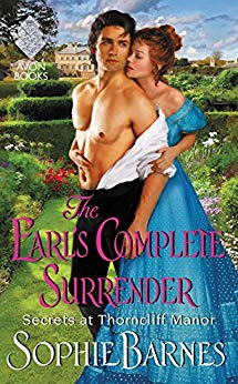 Book cover for The Earl's Complete Surrender by author Sophie Barnes
