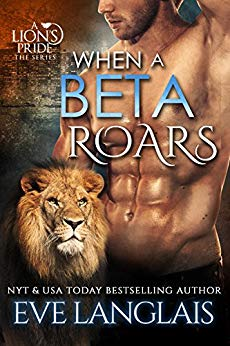 When a Beta Roars cover Author is Eve Langlais