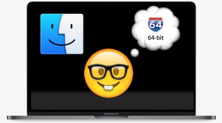 Как запустить Mac OS в 64-битном режиме