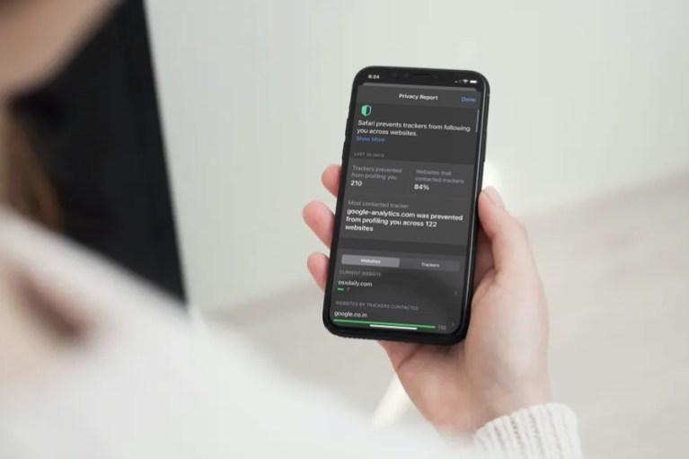 Как проверить отчет о конфиденциальности в Safari на iPhone и iPad