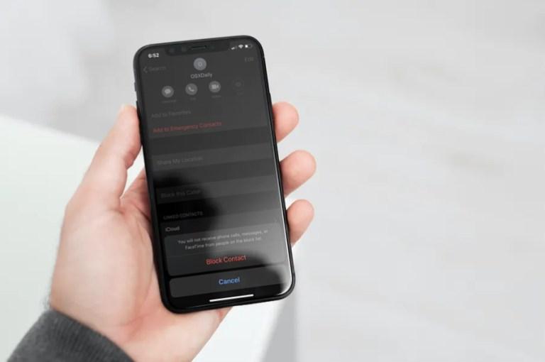 Как увидеть список всех заблокированных номеров на iPhone