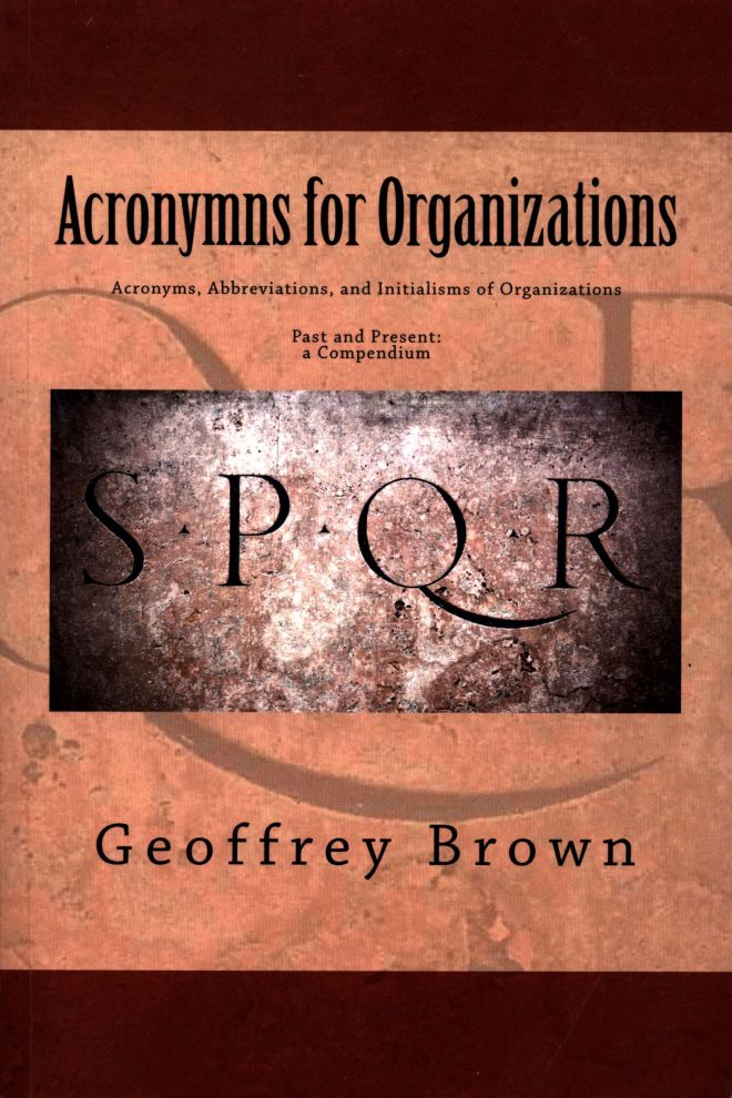 Acronyms for organizations