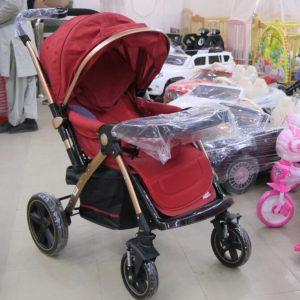 HAQSHUO Comfortable Jumbo Shocker Stroller Pram