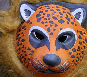 5D Fox Animal Facemask