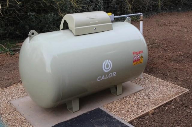 Calor LPG gas boiler installation