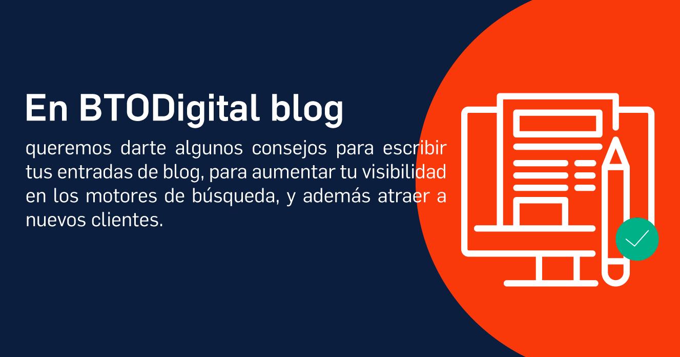 Cuál es la importancia del un blog en el marketing digital? - BTODigital