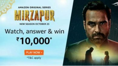 Amazon Originals Series Mirzapur Quiz Answers