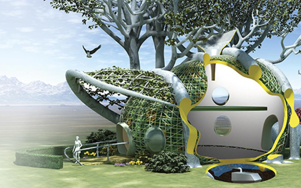 maison qui pousse - 5 Maison futuriste
