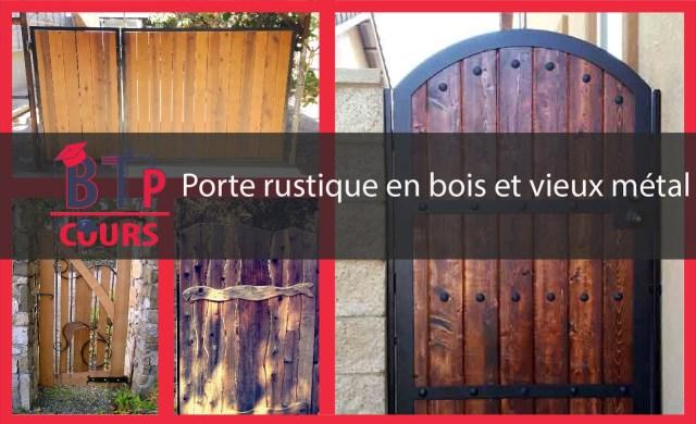 inspirez vous des portes rustiques en bois sur btp-cours.com