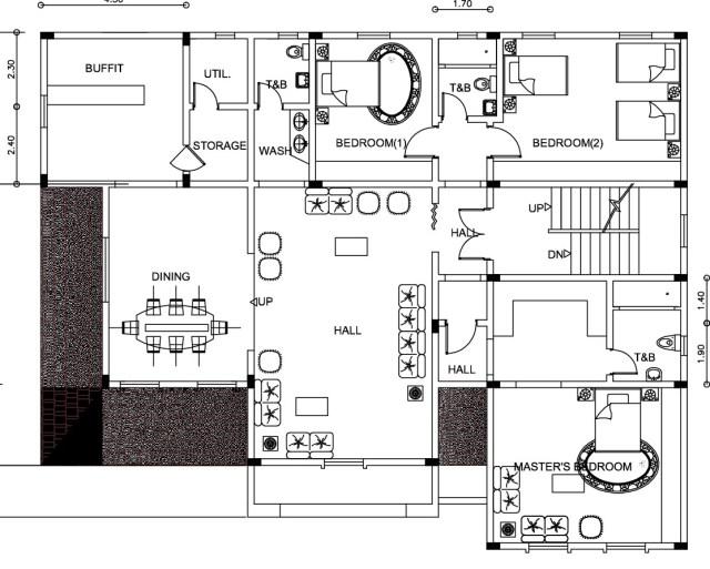 Plan Villa - 010