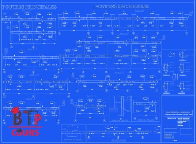 plan ferraillage