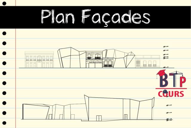 Plan architecture Centre culturel