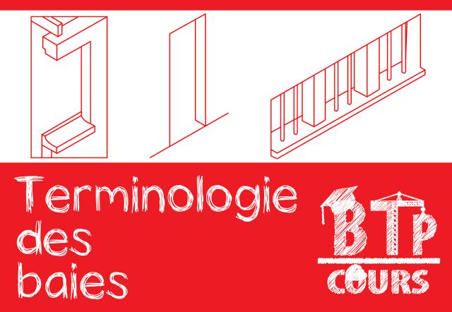 Terminologie du bâtiment