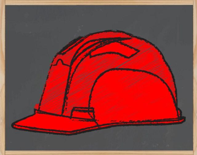 Le casque rouge : responsable sécurité: