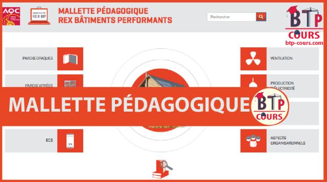 MALLETTE PÉDAGOGIQUE BÂTIMENTS PERFORMANTS