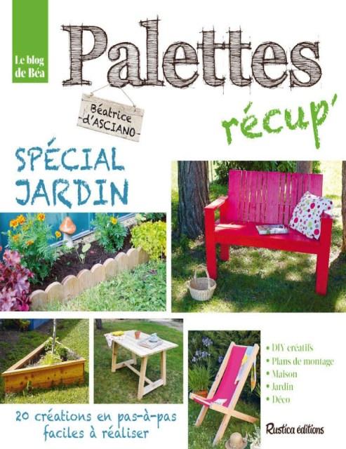 livre Palettes récup - Spécial jardin