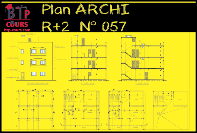 Plan ARCHItecture  R+2