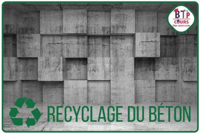 recyclé le béton