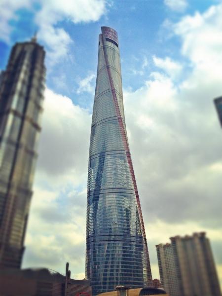 méga-projets d'ingénierie - Tour de Shanghai