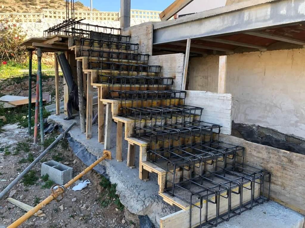 Escalier ferraillage