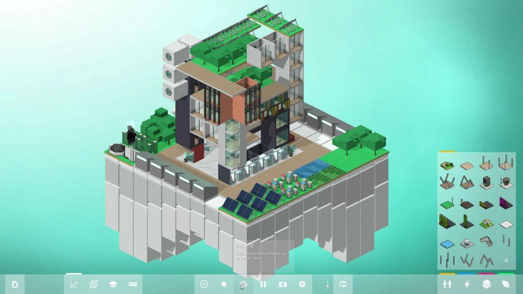 Block hood - jeux d'architecture