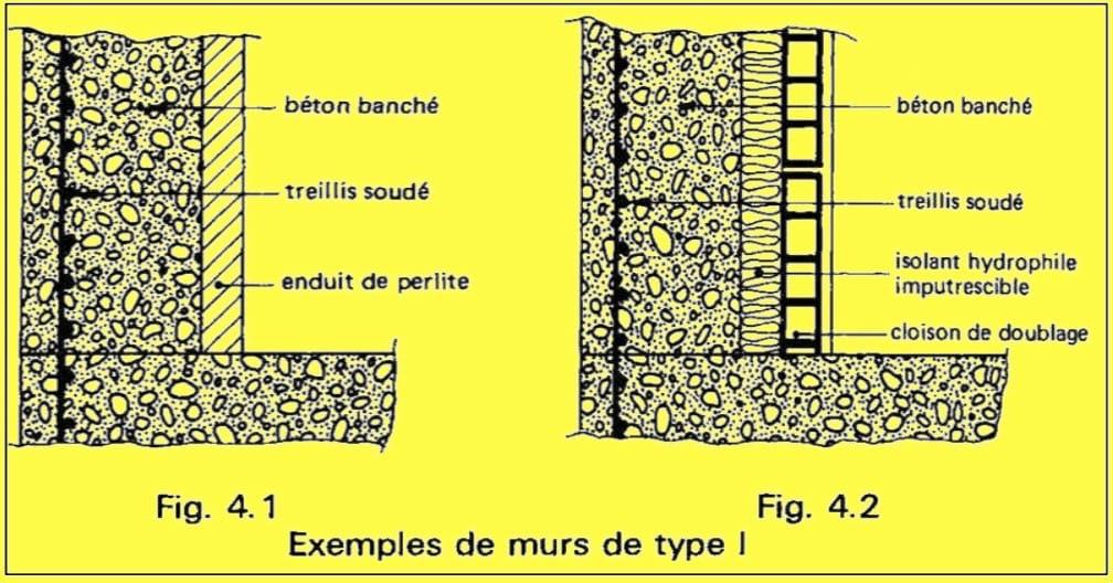 EXEMPLE MUR DE TYPE I
