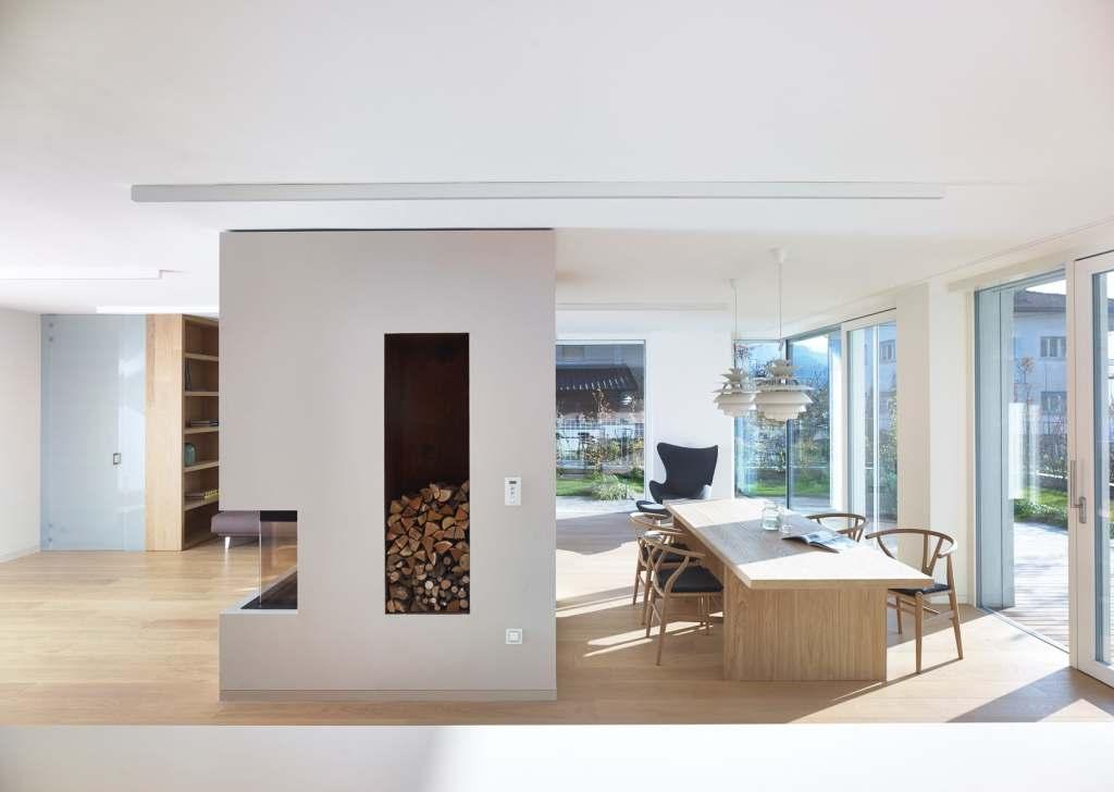 cheminées étonnantes pour des résidences minimalistes