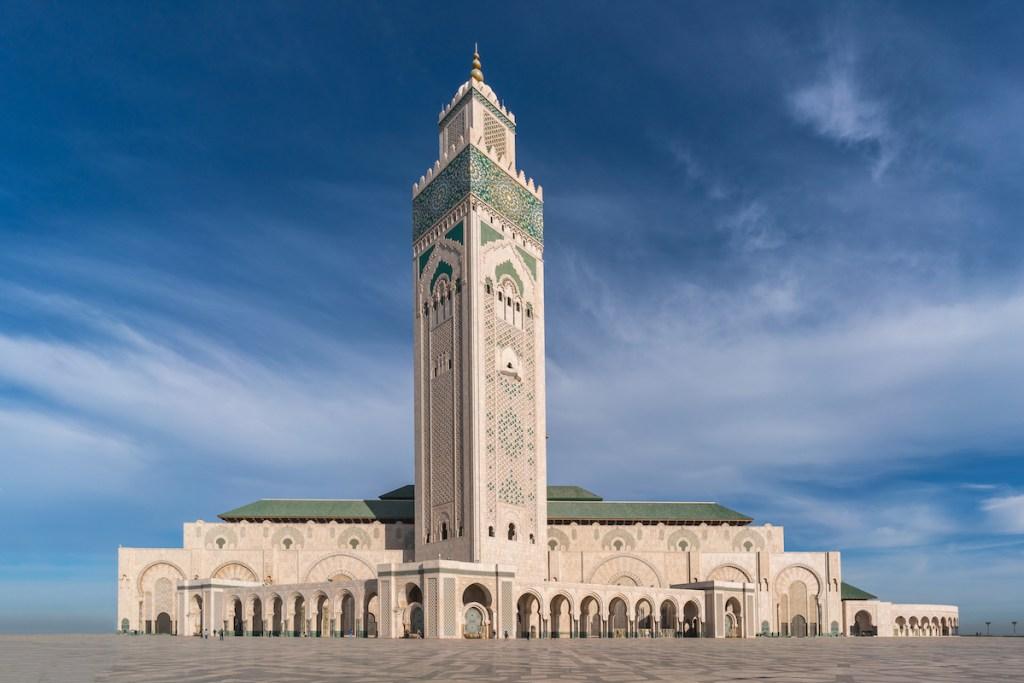Mosquée Hassan II - Casablanca, Maroc