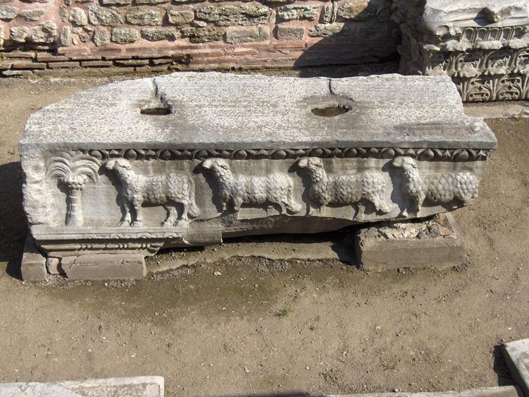 Antécédents Sainte-Sophie Empire romain