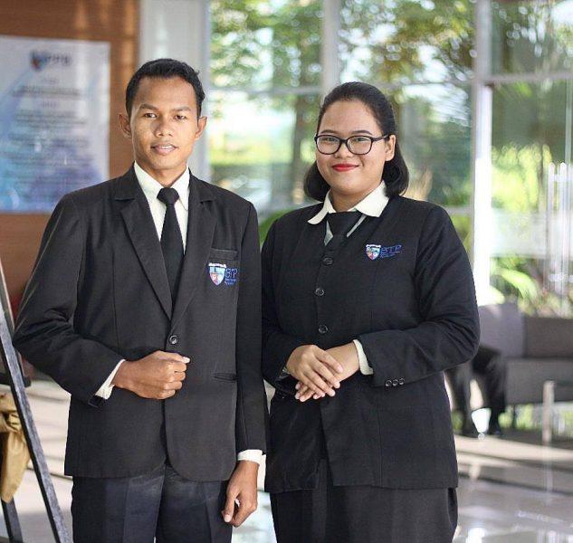 Mahasiswa Culinary Management BTP (Kurnia Al Fajri dan Defi Napouling) On The Job Training di THE SOFITEL Beach Resort Bali