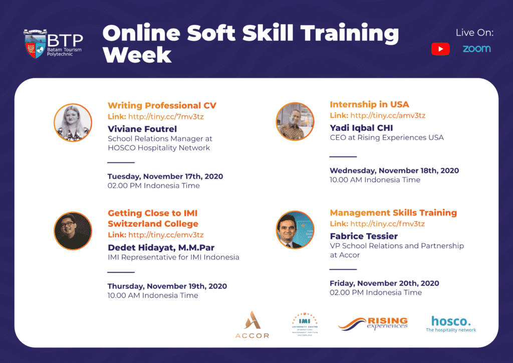 Online Soft Skill Training Week