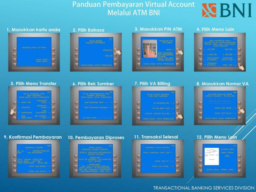 Panduan Pembayaran Uang Kuliah Menggunakan Virtual Account Bni Btp Batam Tourism Polytechnic Transfer ke virtual account