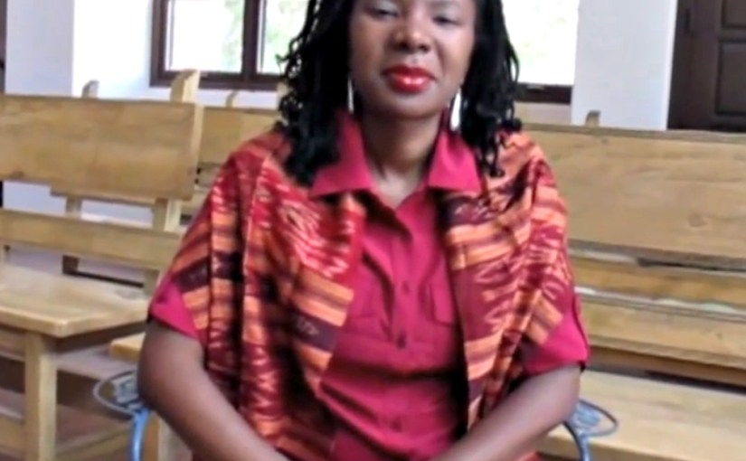 Melanie L. Harris discusses Womanism, Womanist Theology, Ecowomanism and the Black Church