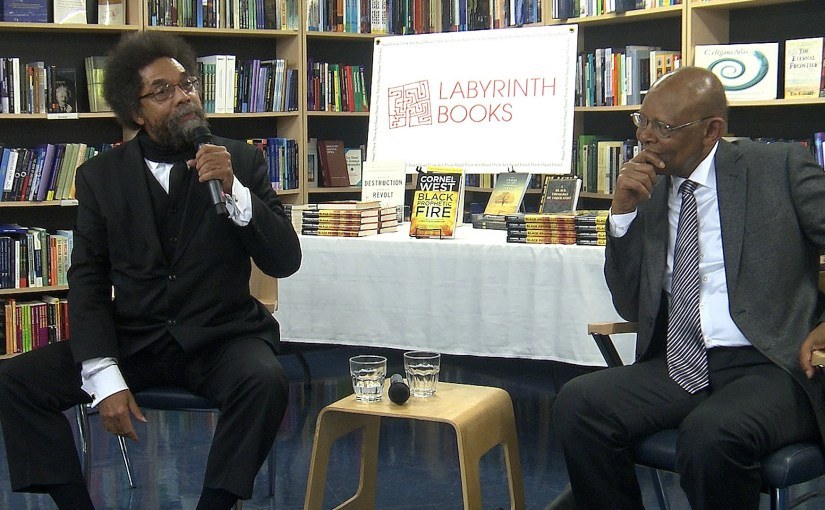 "Dr. Cornel West & Dr. James H. Cone in Conversation -""Black Prophetic Fire"" Book Talk"