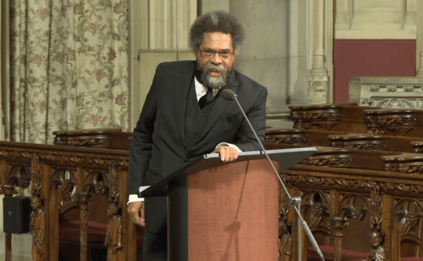 Dr. Cornel West Reflects on the Life of Rev. Dr. James Cone