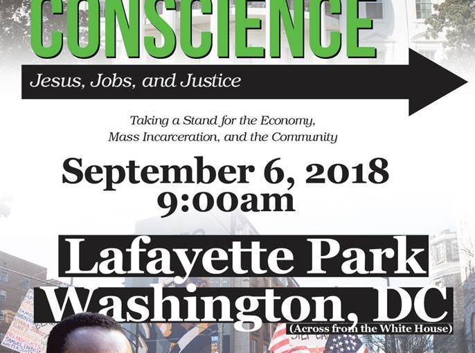 "Black Churches to Assemble for ""Call to Conscience: Forward to Action"" Rally in Washington, D.C."