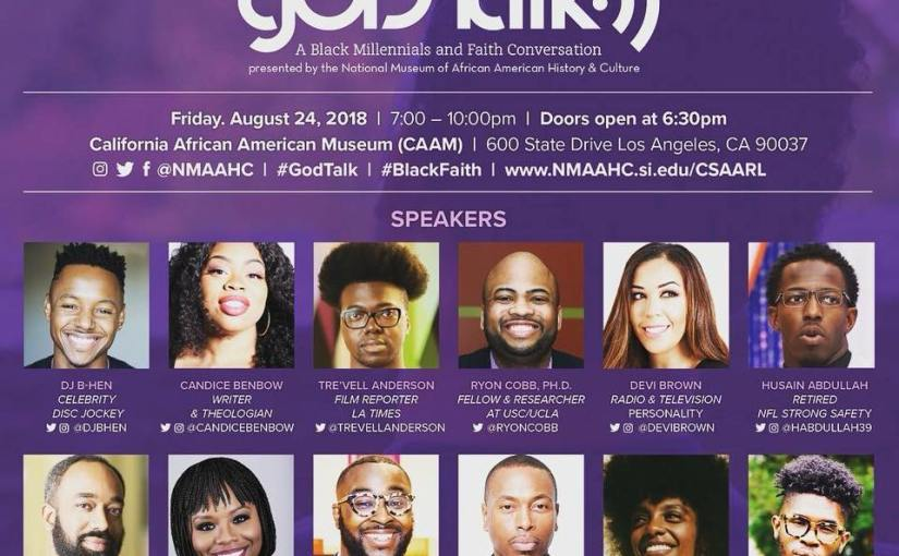 gOD-Talk: A Black Millennials and Faith Conversation Series – Los Angeles