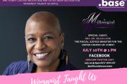Womanist Taught Us: Episode 1 – Rev. Dr. Velda Love