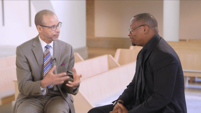A Conversation with Dr. Marcus D. Cosby