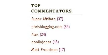 What's Up Wednesdays: July's Top Commentators