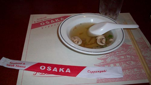 Osaka Teppanyaki: Good, But Pricey for What You Get