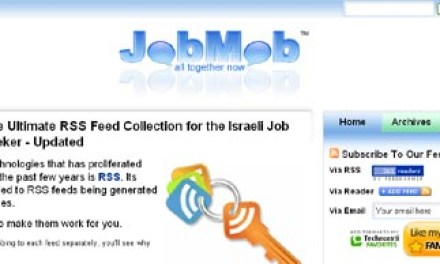 Let the Mob Find You a Job in Israel