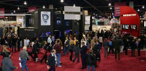 ces show floor - Consumer Electronics Show - ces 2007