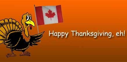Canadian Thanksgiving: I Am Thankful For…